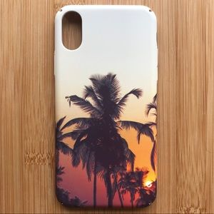 NEW Iphone X Palm Tree Summer Case